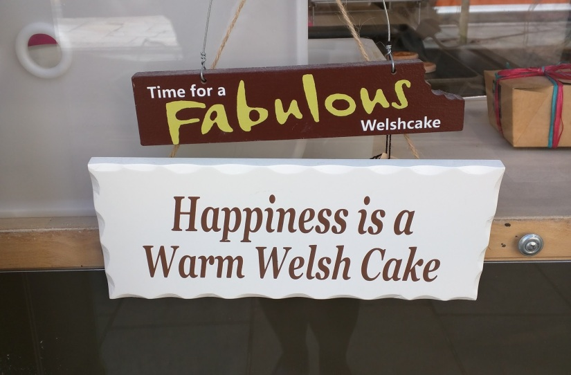 Happiness is a Warm Welsh Cake